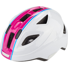 Puky PH 8 Helm Kinder weiß/pink